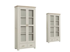 Treviso Painted Display Cabinet.003