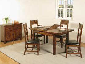 Roscrea 4ft Extension Dining Set