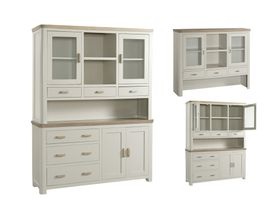 Treviso Painted large door buffet hutch